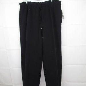 Karen Scott Sport Pants Size 1X Fleece Training